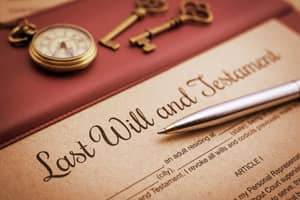 Leaving Property In Your Will