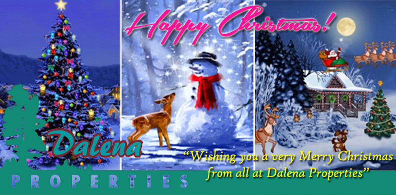 Happy Christmas From Dalena Properties